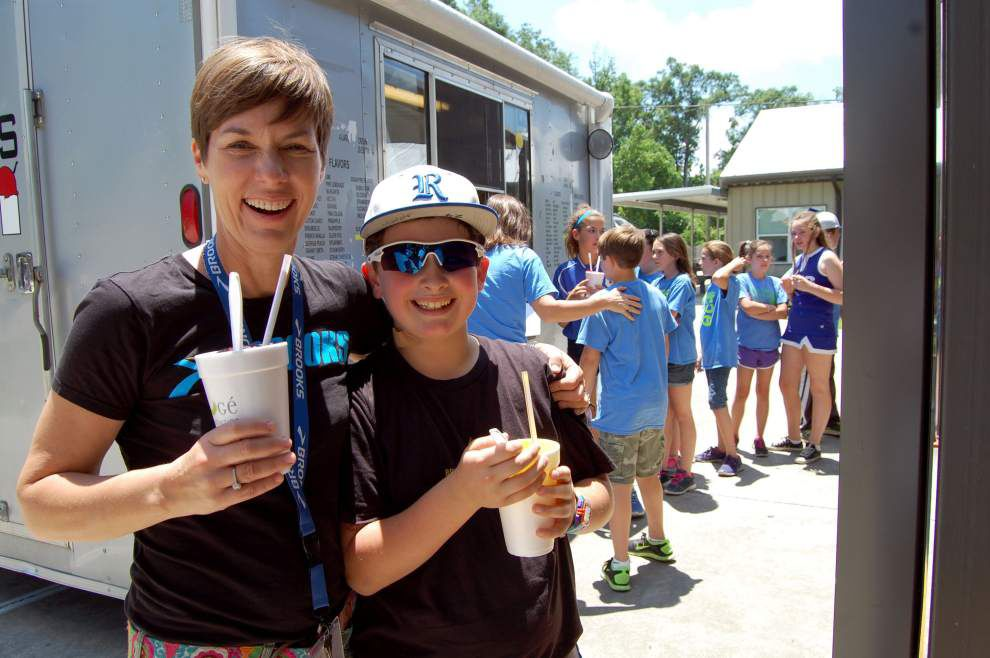 Sixth grader's essay wins snow cone party _lowres