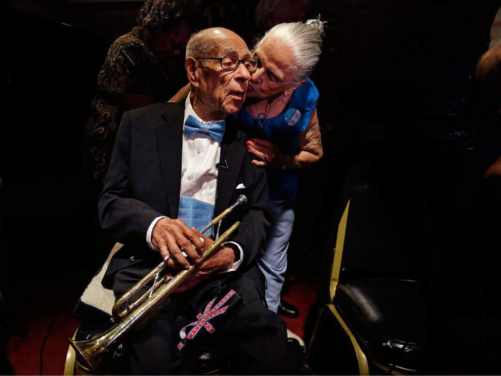 Beloved N.O. trumpeter Lionel Ferbos dies at 103 _lowres
