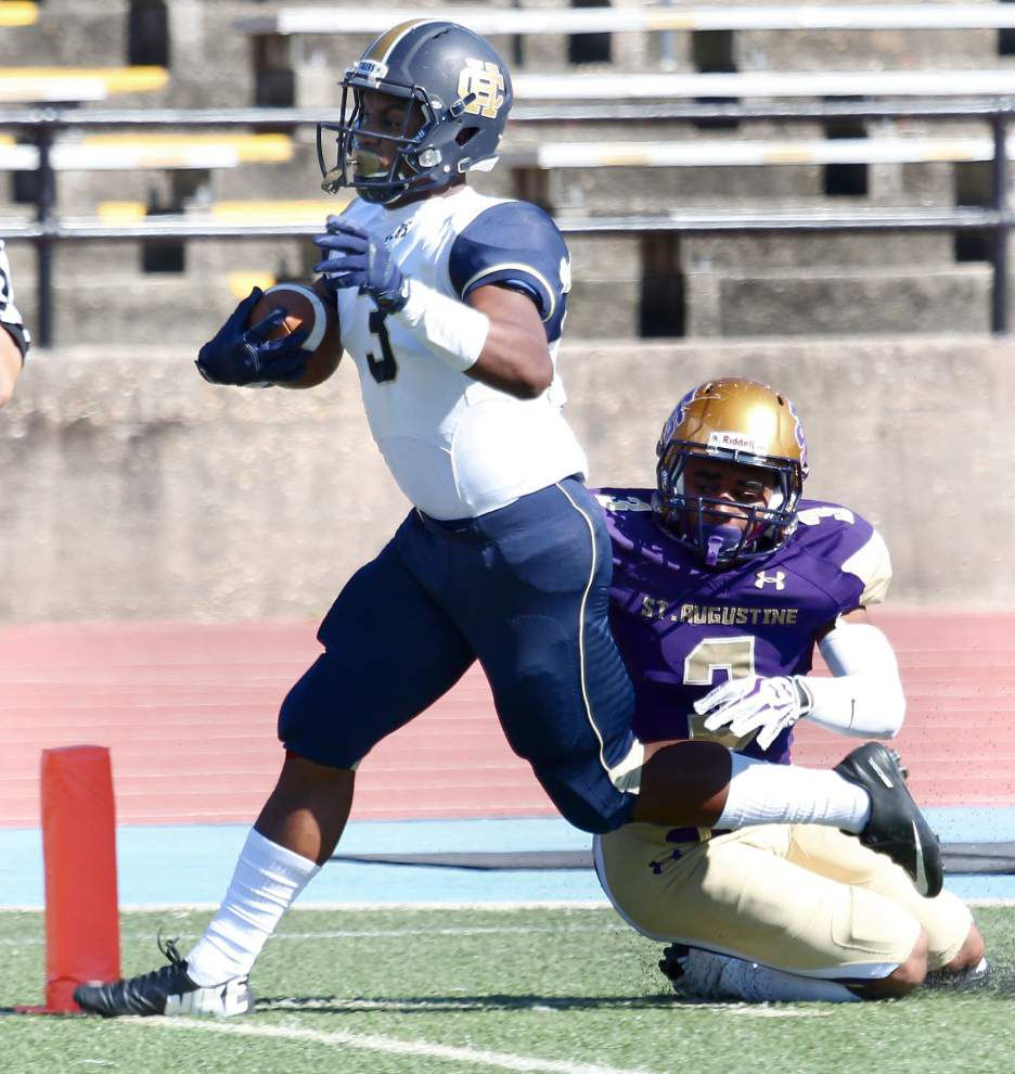 Holy Cross beats St. Augustine to give Eric Rebaudo his first Catholic League win _lowres