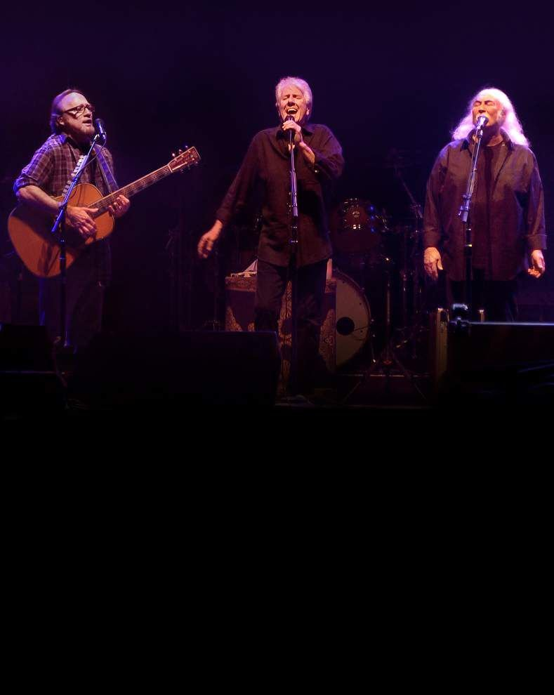 Crosby, Stills& Nash at the Saenger on Saturday _lowres