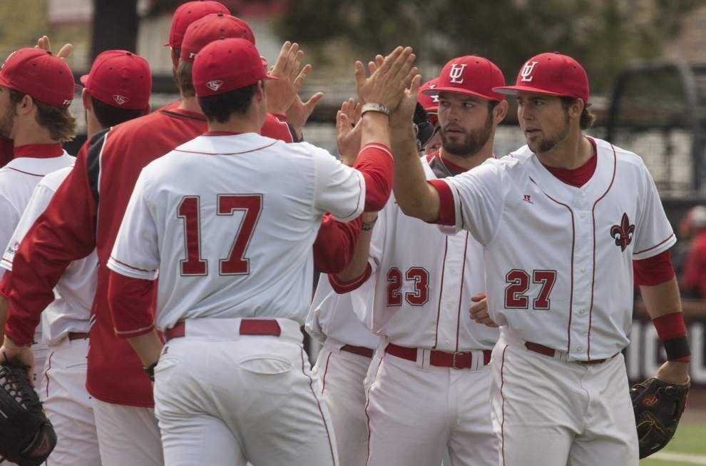 Ragin' Cajuns baseball team erupts early, thumps Georgia State _lowres