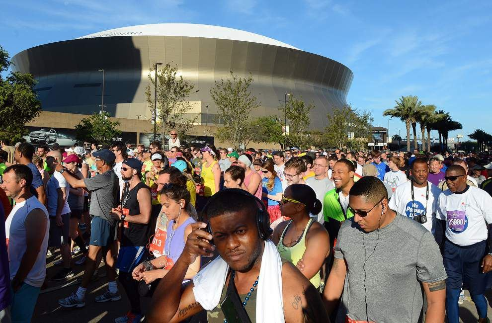 Fall starting line marks race season for N.O. area _lowres