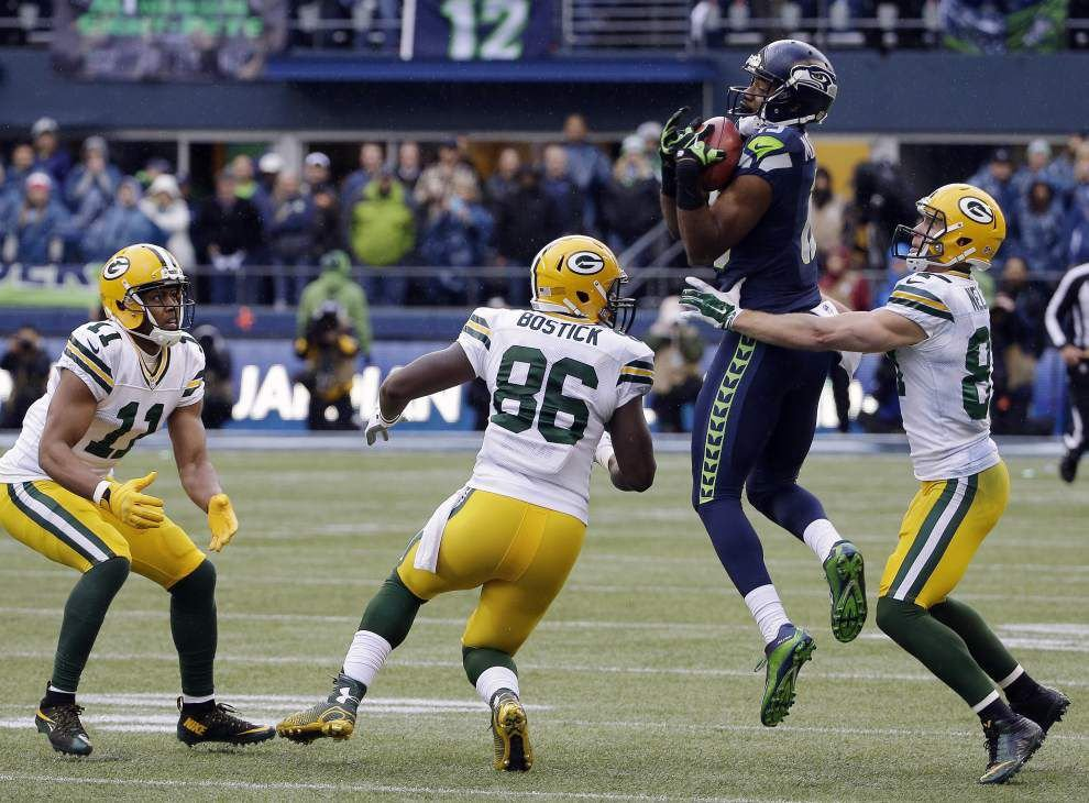 Seahawks stun Packers 28-22 in overtime to return to the Super Bowl _lowres