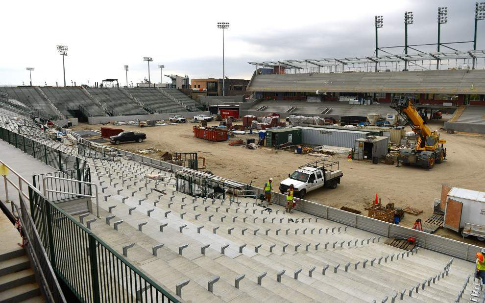Yulman Stadium at heart of Tulane's effort to improve fans' experience _lowres