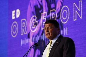 Ed Orgeron at SEC media days: 7 interesting quotes on LSU, Joe Burrow, Grant Delpit, more