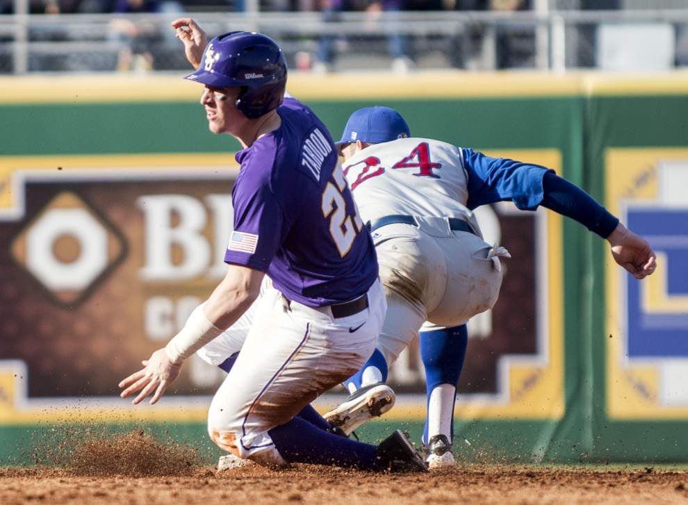 LSU baseball pregame: LSU vs. Kansas _lowres