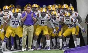 Who are LSU's two extra SEC football opponents? See the details