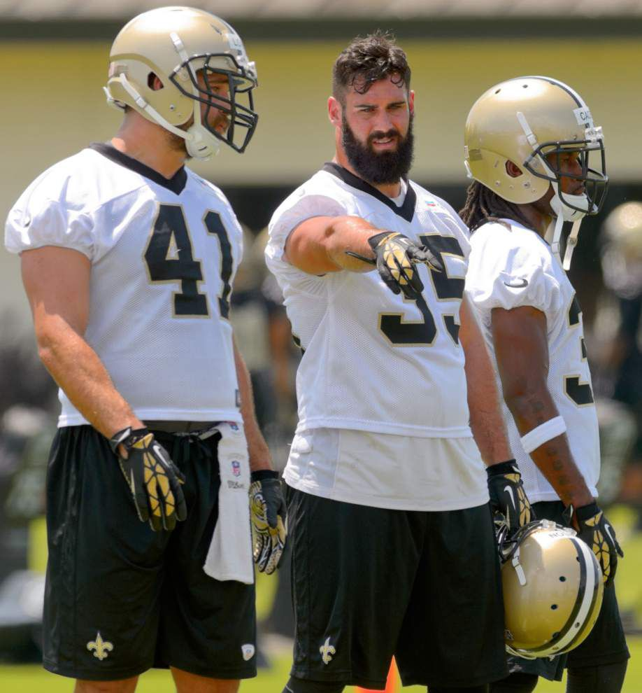 Players on borderline put in extra work to earn spot with Saints _lowres