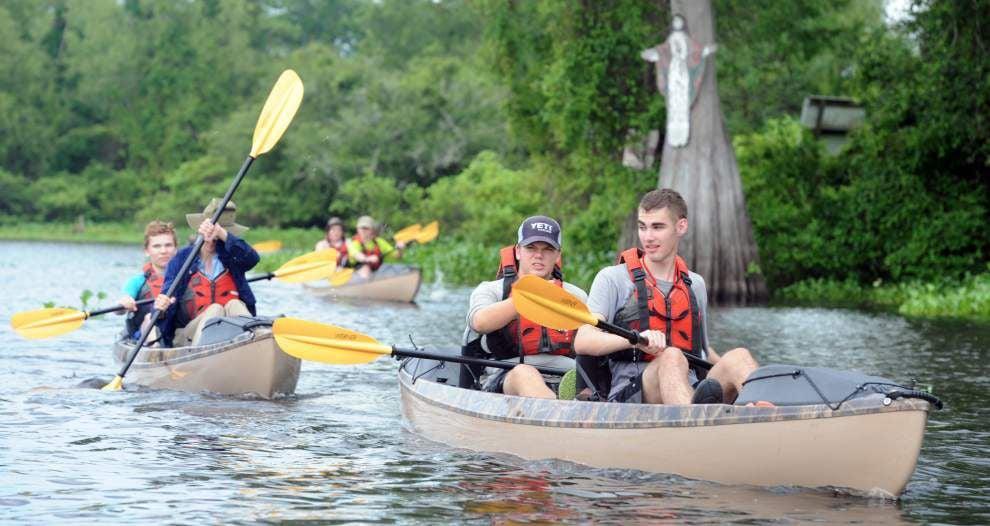 Boy Scouts eye adventure camp in Atchafalaya Basin _lowres