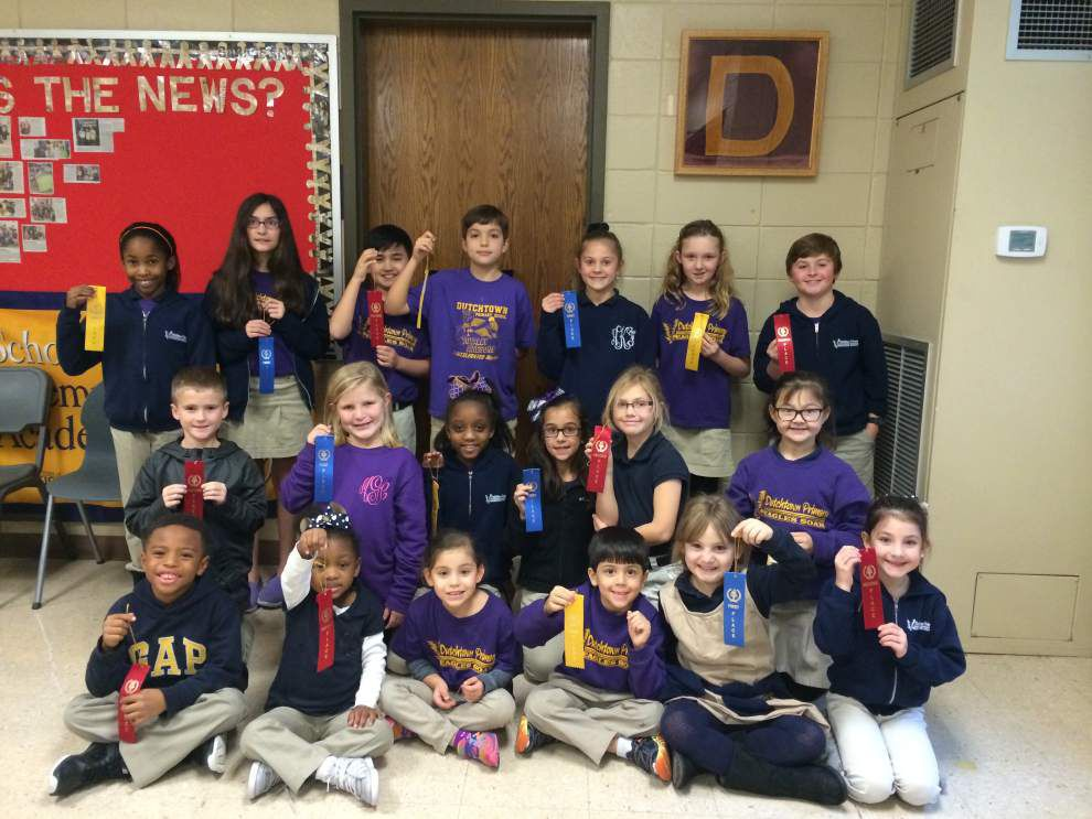 Dutchtown Primary awards writing winners _lowres