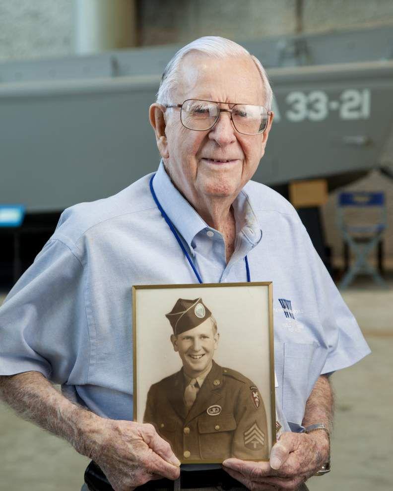 D-Day hero and WWII Museum volunteer Thomas Blakey dies at 94 _lowres