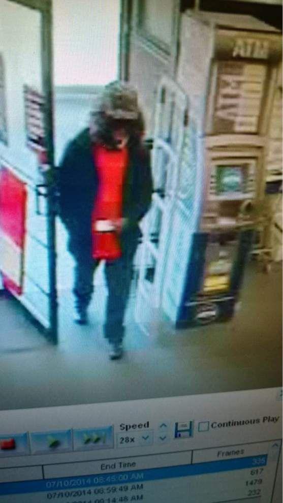 EBR deputies seek bewigged bandit who tried to rob CVS on George O'Neal _lowres