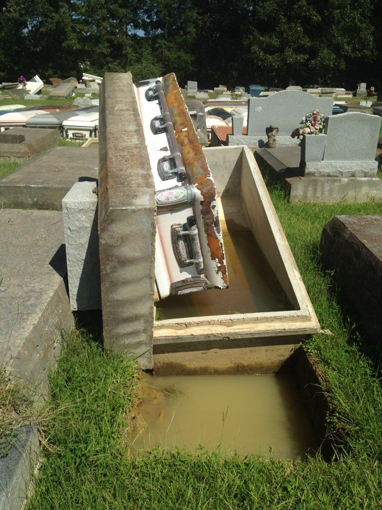 After Flood Uproots Nearly 300 Graves The Cost Of Repair