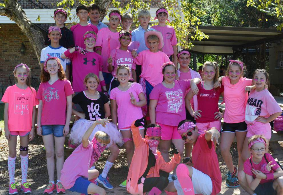 Covington students' breast cancer walk raises more than $2,500 _lowres