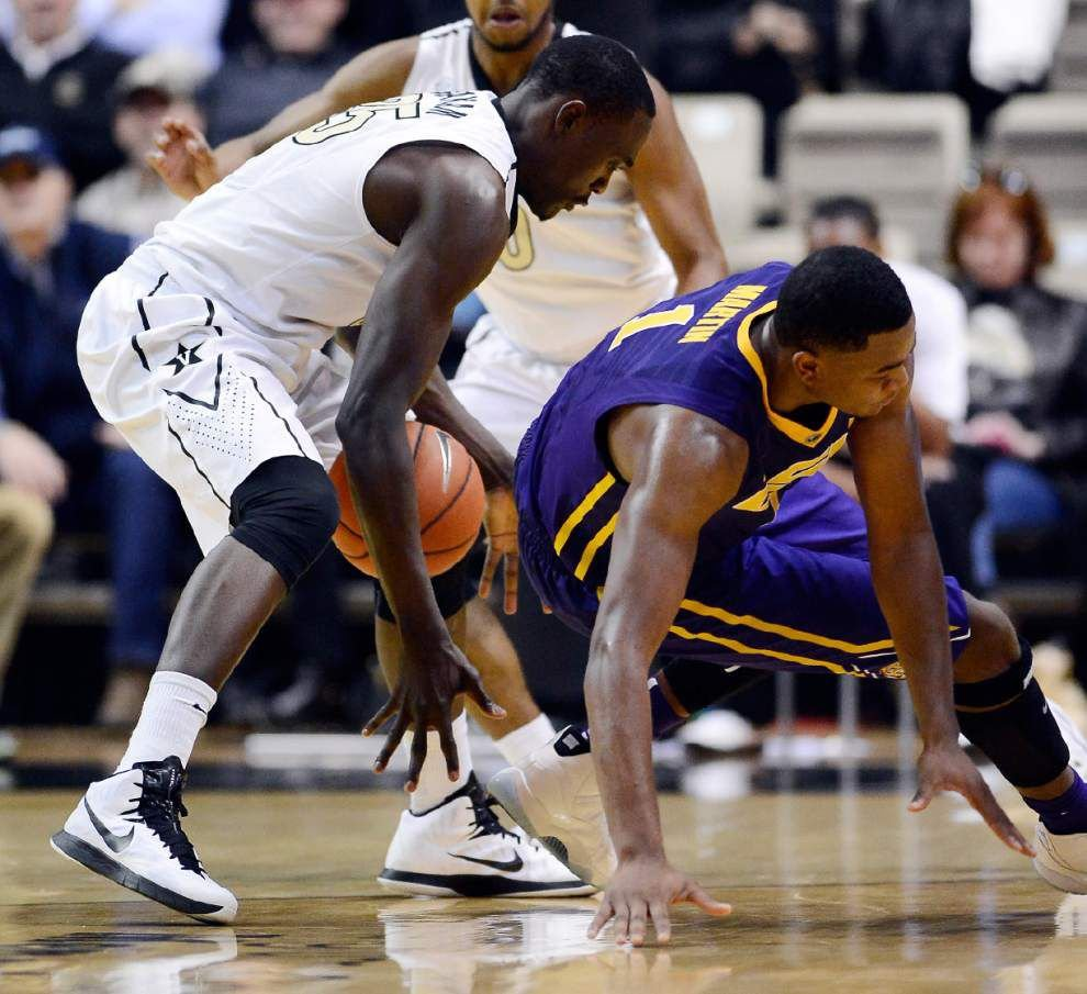 Video: LSU forward Jarell Martin talks about coming up big in the final minutes of the Tigers' 79-75 overtime victory at Vanderbilt _lowres
