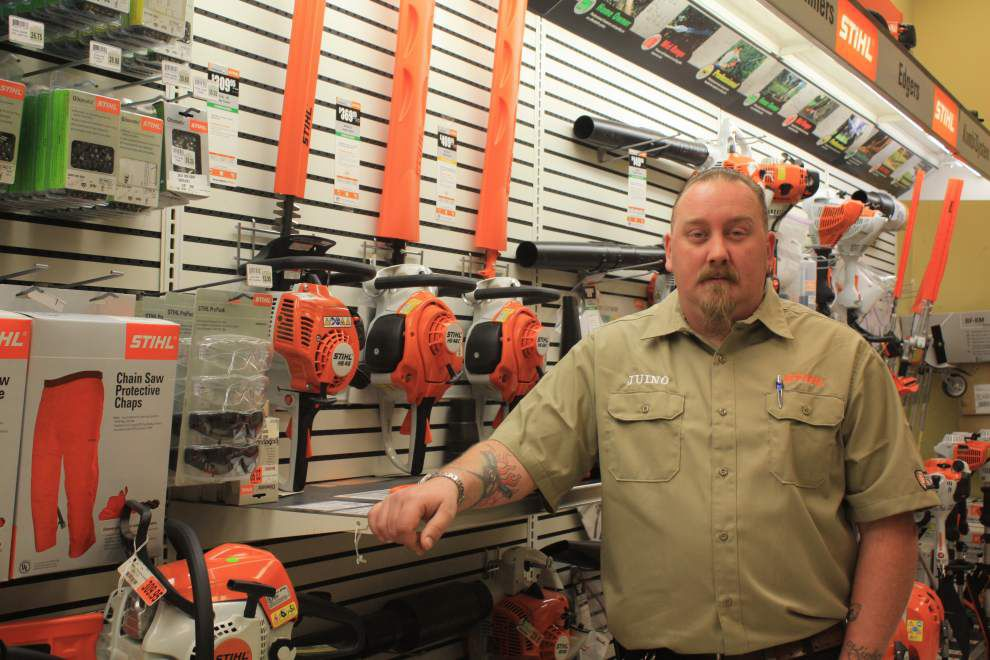 LeBlanc's honors worker for Stihl certification _lowres