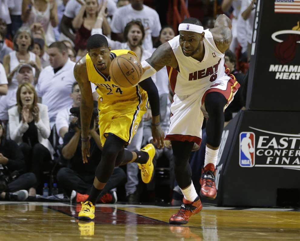 LeBron James not fanning fire with Pacers _lowres