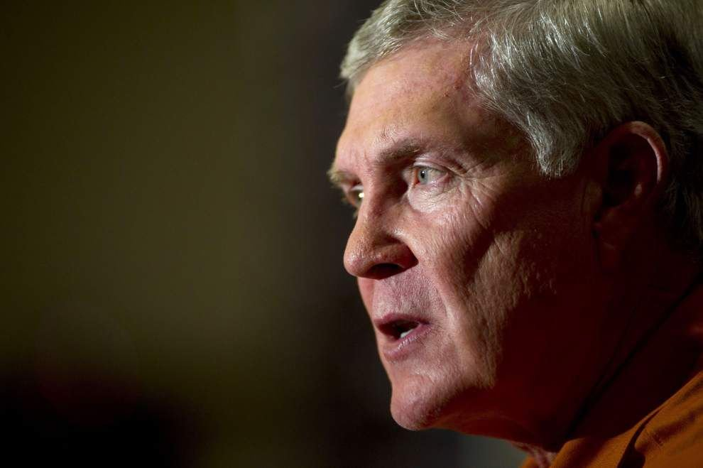 Former Tulane, Texas coach Mack Brown to provide ESPN commentary on the New Orleans Bowl _lowres