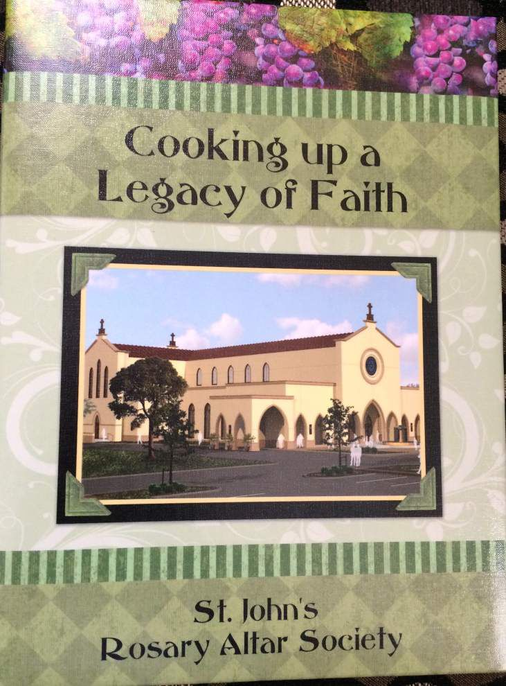 St. John's Rosary Altar Society serves up faith in cookbook _lowres