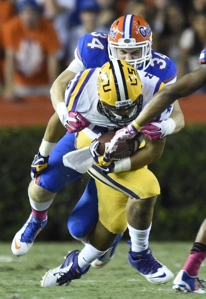 LSU fullback Melvin Jones shines in spot duty; but Connor Neighbors will return to lineup vs. Kentucky _lowres