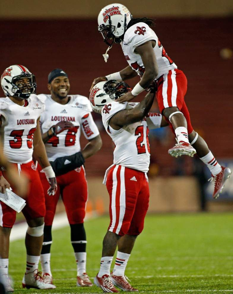 Jared Johnson, Effrem Reed step forward in Cajuns' offense _lowres