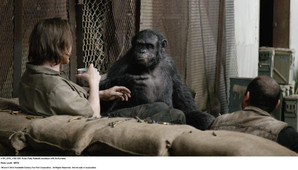 'Dawn,' next chapter in 'Planet of the Apes' adds complexity, sincerity to post-apocalyptic world _lowres