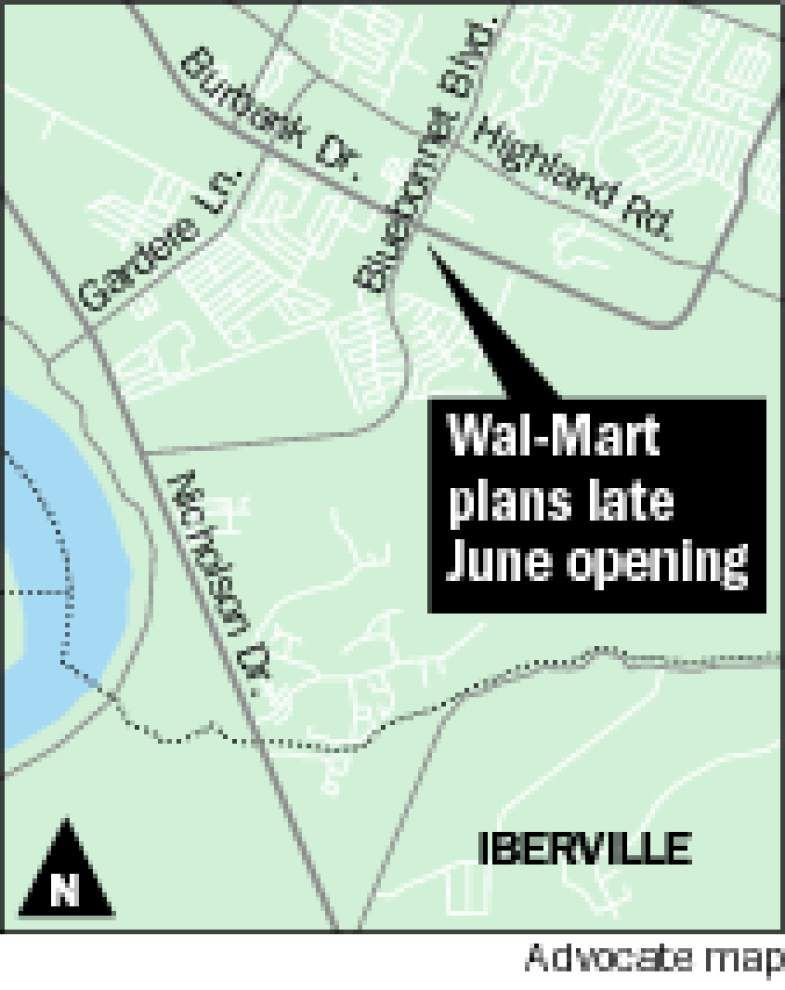 Burbank Wal-Mart projected to open in late June _lowres