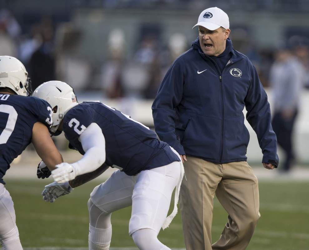 Defensive coordinator Shoop staying put at Penn State _lowres