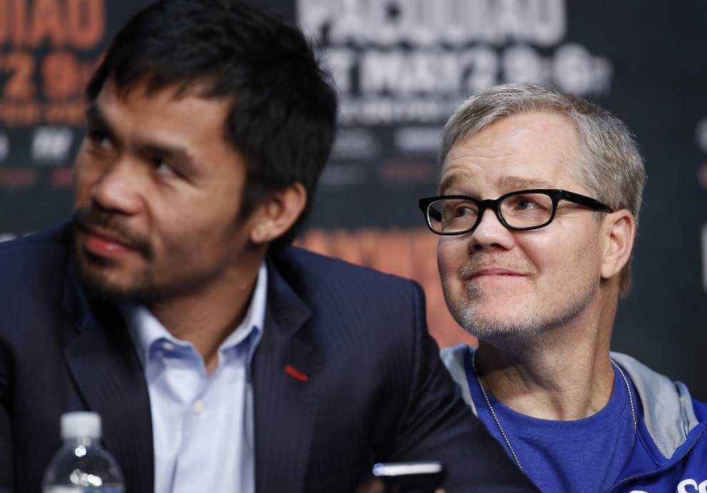Freddie Roach confident in referee, judges for fight _lowres