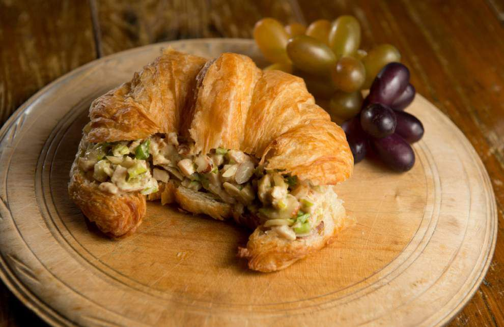 Turkey Salad Croissant _lowres