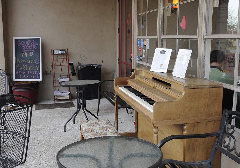 Lafayette espresso bar wants to turn signature piano into work of art _lowres