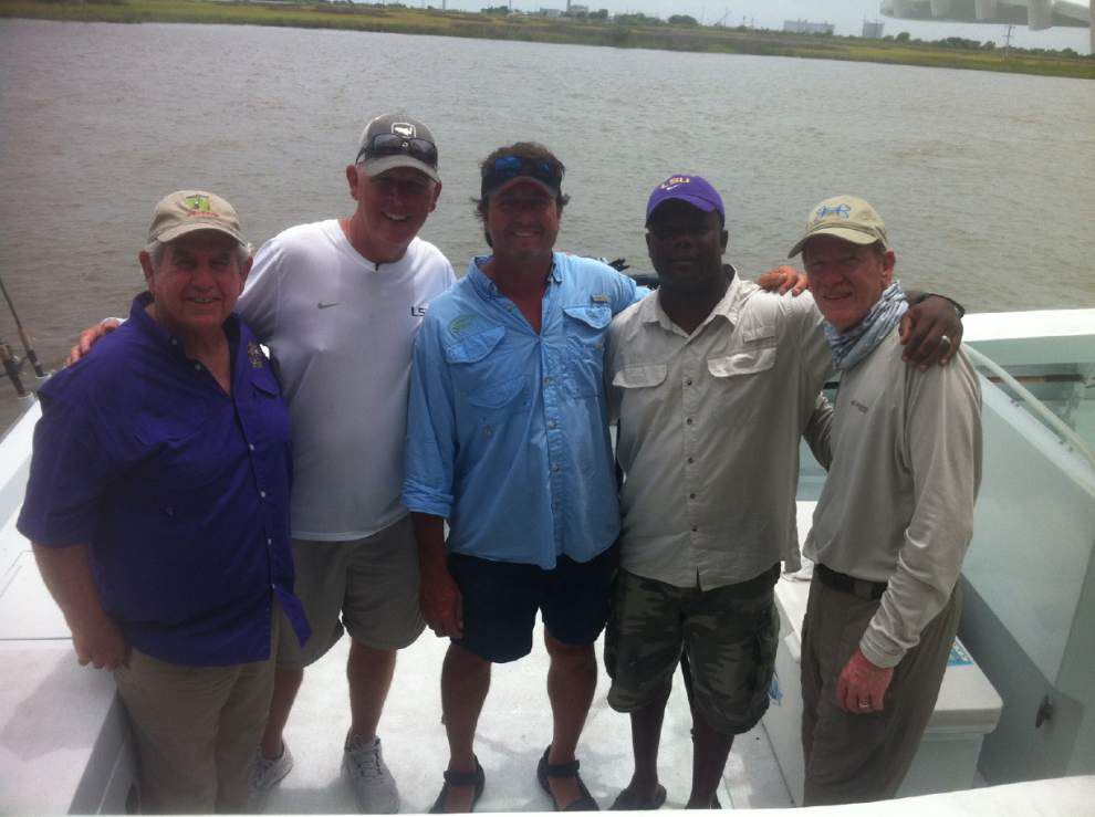 Video: Cam Cameron goes fishing, talks more LSU football _lowres