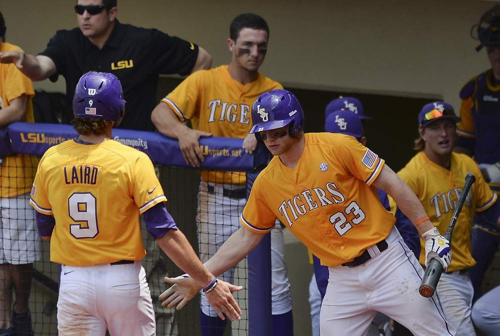 LSU beats Tennessee 9-4 to win fourth straight SEC series _lowres
