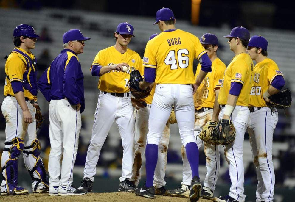 LSU baseball postgame: Tigers win 8-1 at Northwestern State _lowres
