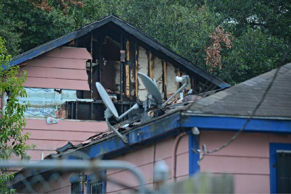 Arsonist burns Mission Drive house _lowres