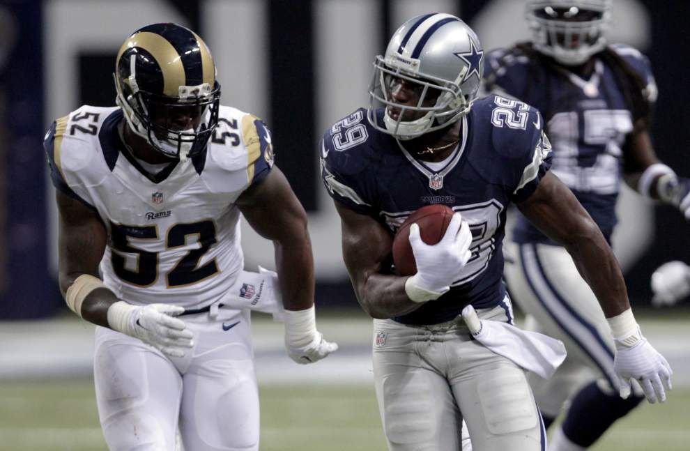 Dallas running back DeMarco Murray could be key to Tony Romo's success against the Saints on Sunday _lowres