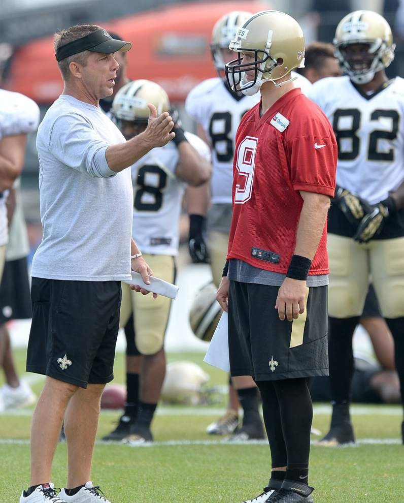 The Saints have plenty of voices when it comes to calling offensive plays _lowres