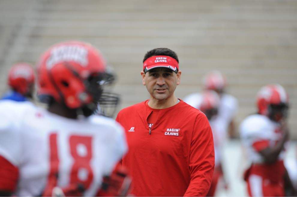 The Cajuns' Jorge Munoz relishes his new role as offensive coordinator _lowres