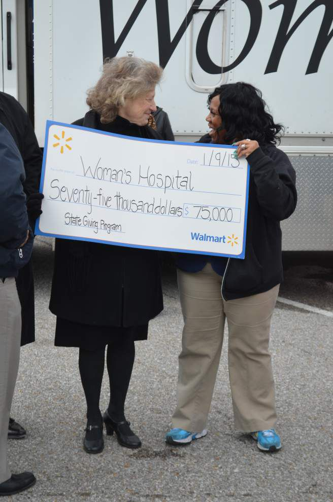 Walmart Foundation gives $75,000 to Woman's _lowres