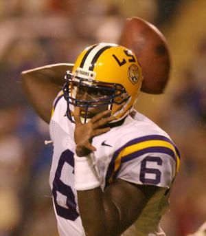 Former LSU quarterback Rohan Davey encourages Joe Burrow as his records fall: 'Smash them all'