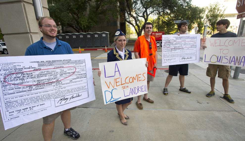 Judge dismisses suit challenging Sen. Mary Landrieu's residency _lowres