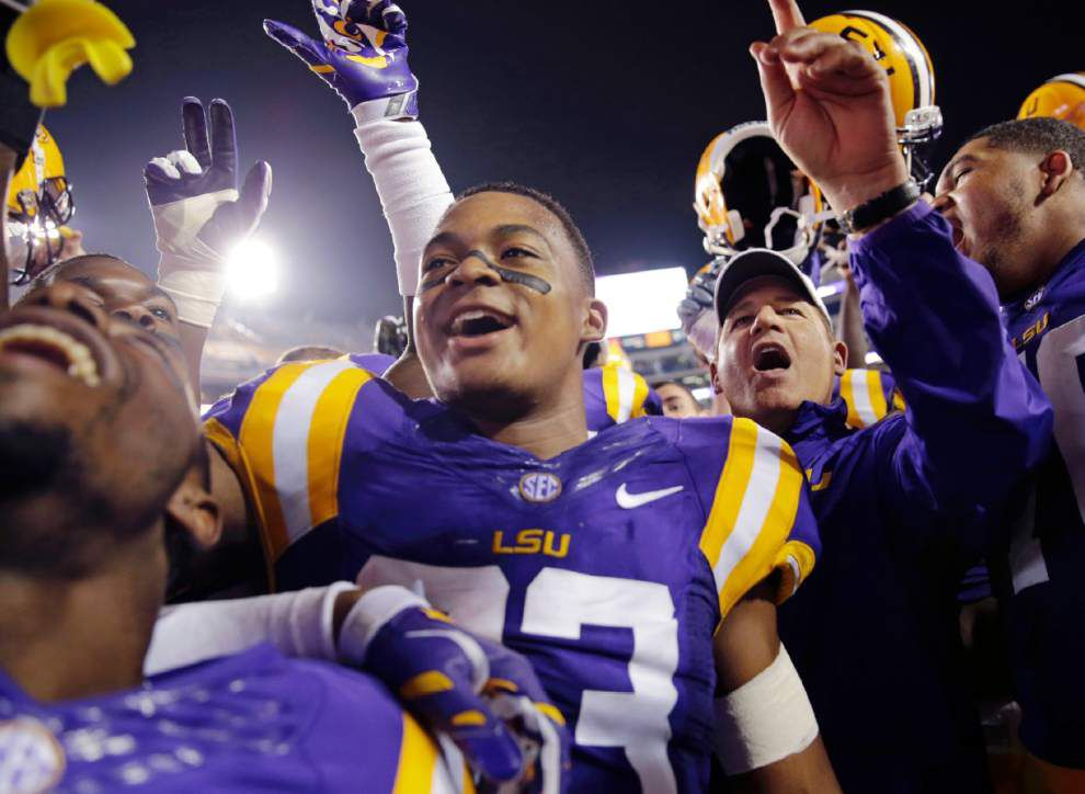 Wednesday's with LSU football coach Les Miles _lowres