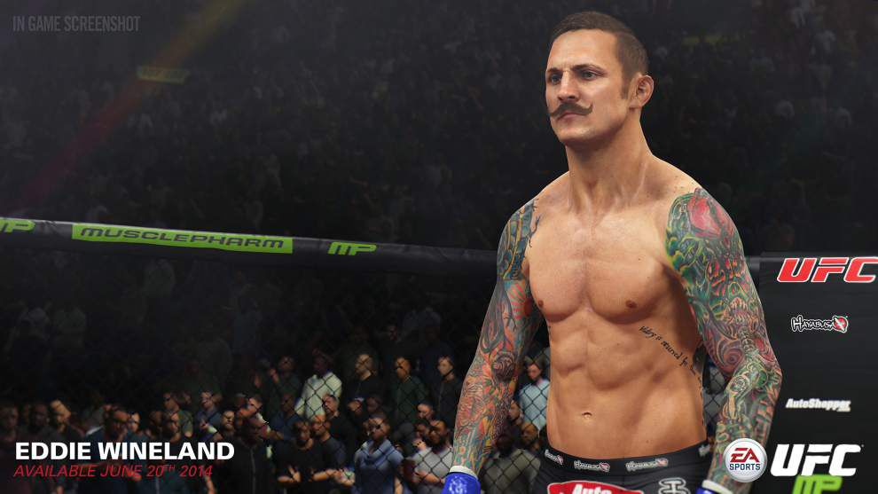 'EA Sports UFC' a respectable first round for EA _lowres