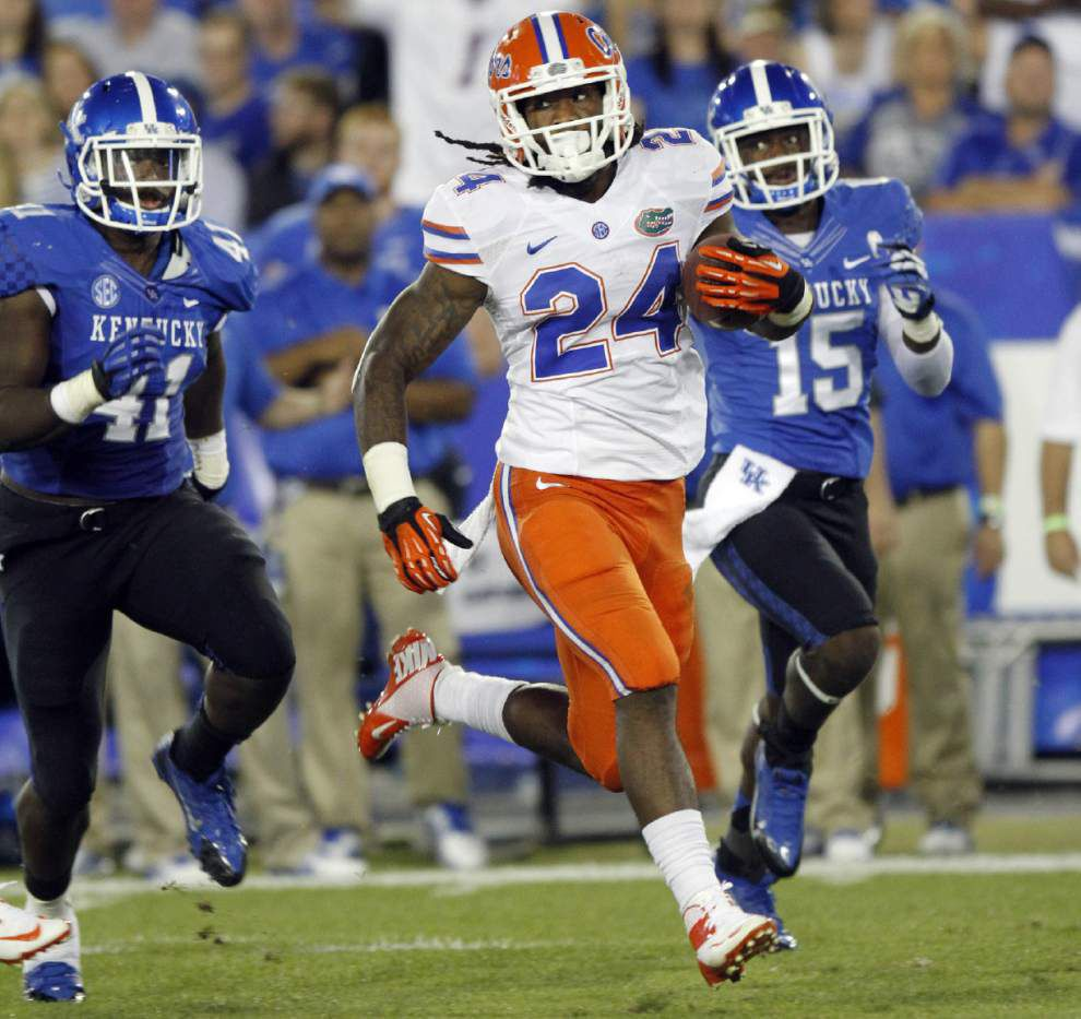 Florida rusher Matt Jones excited for fresh start _lowres