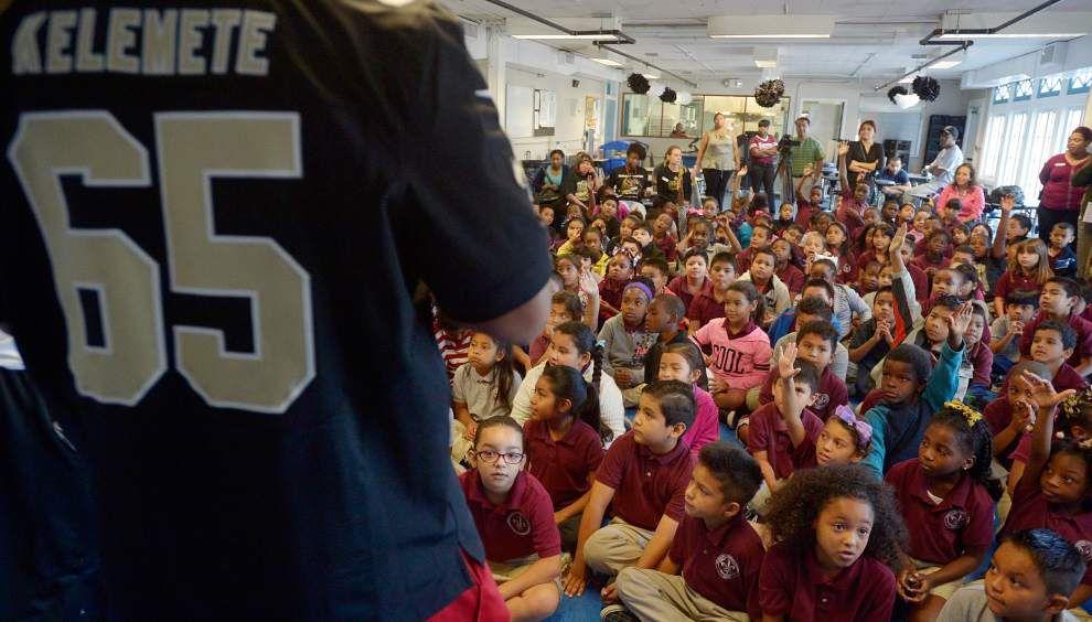 Saints bring American football to Hispanic students _lowres