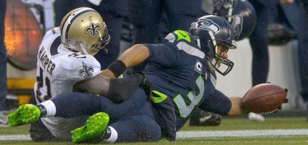 Panthers safety Roman Harper is still missed by his old Saints teammates _lowres