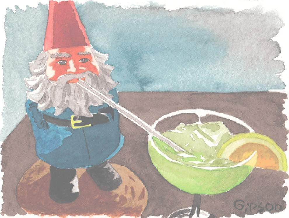Human Condition: Taking gnome along for the ride _lowres