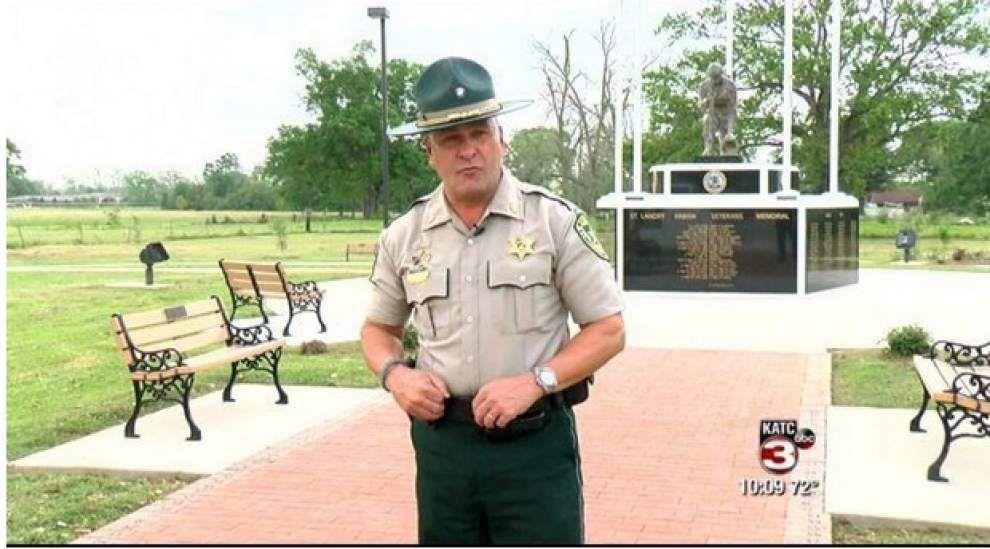 Washington Post report: 'Cajun John Wayne' in St. Landry Parish terrifies criminals, makes fans 'feel safe' _lowres
