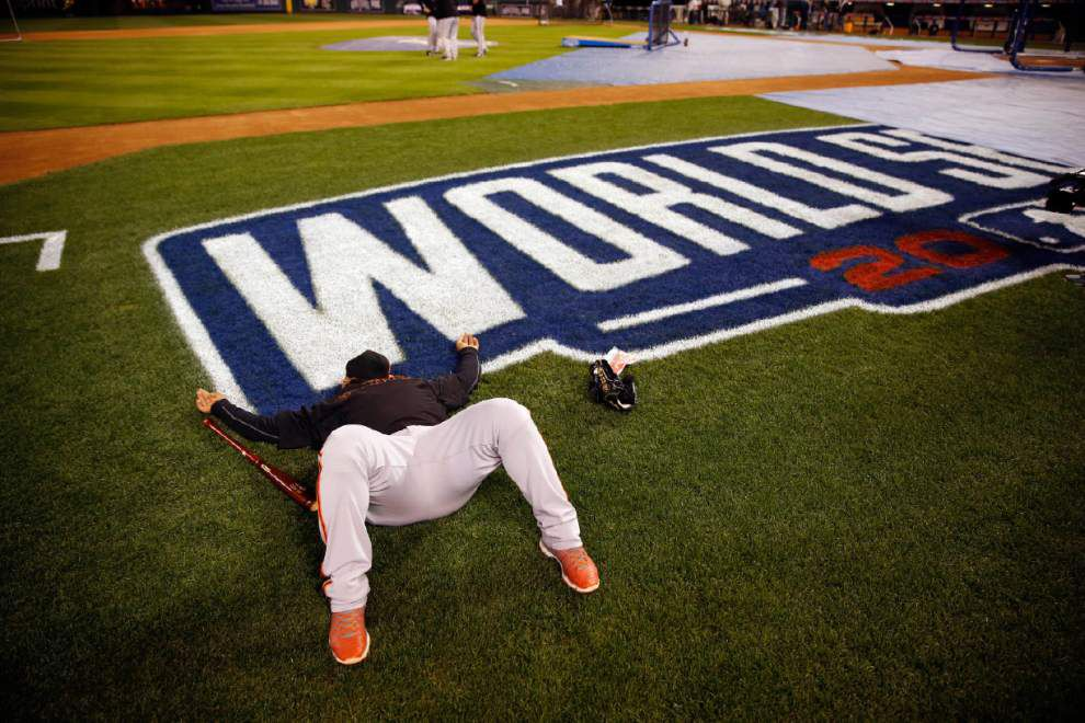 Giants, Royals ready for wild World Series finish _lowres