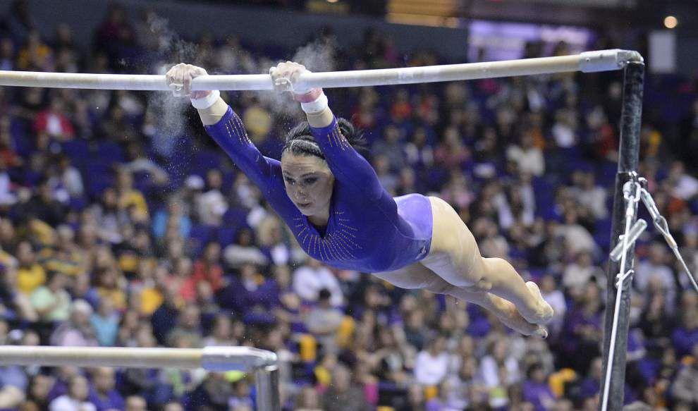 LSU gymnastics to host Missouri _lowres